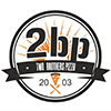 2BP - Two Brothers Pizza - Aberdeen Logo