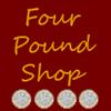 Four Pound Shop - Yoker Logo
