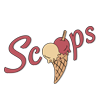 Scoops - Dunblane Logo