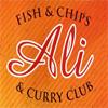 Ali Fish & Chips & Curry Club - Garelochhead Logo
